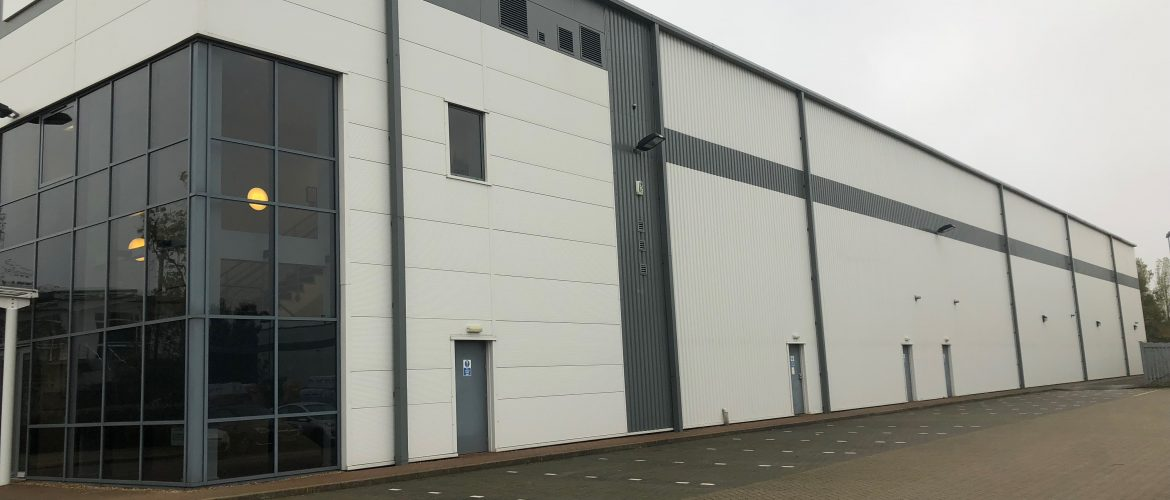 Aluminium Cladding Cleaning Carried Out By Cleaned With Care Ltd